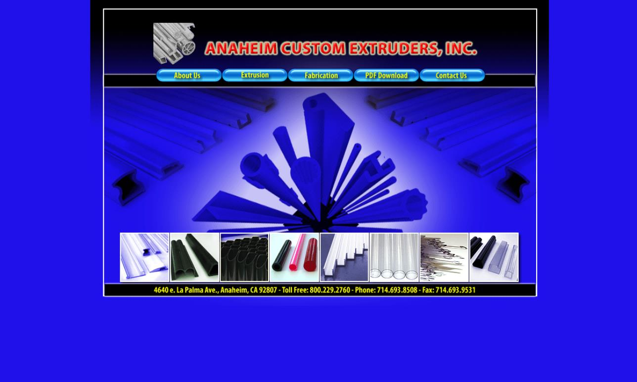 Anaheim Custom Extruders, Inc.