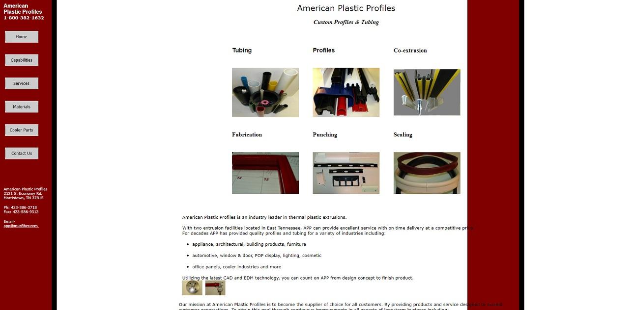American Plastic Profiles, Inc.