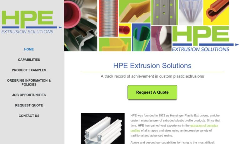 HPE Extrusion Solutions