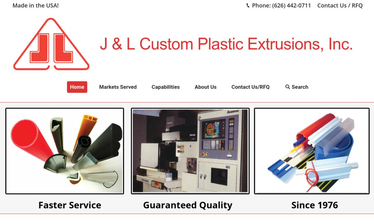 J & L Custom Plastic Extrusions, Inc.