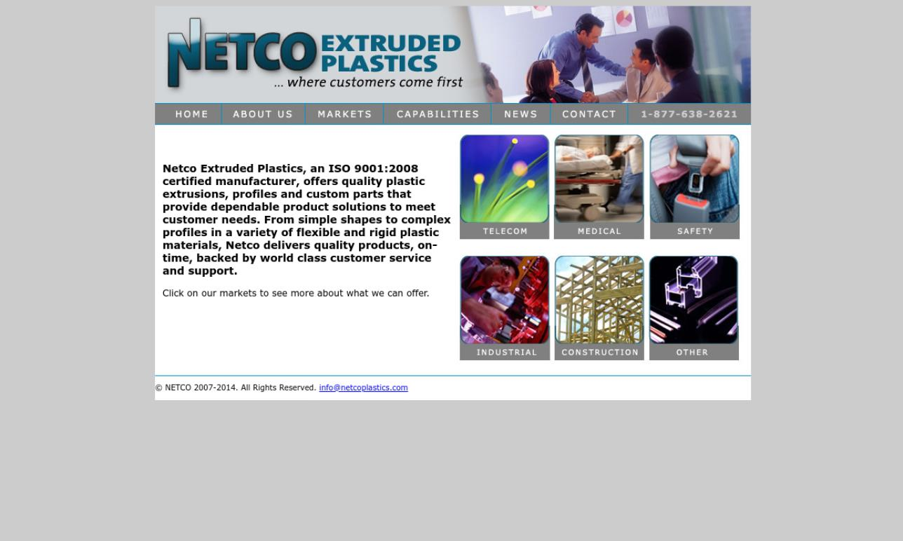 NETCO Extruded  Plastics, Inc.