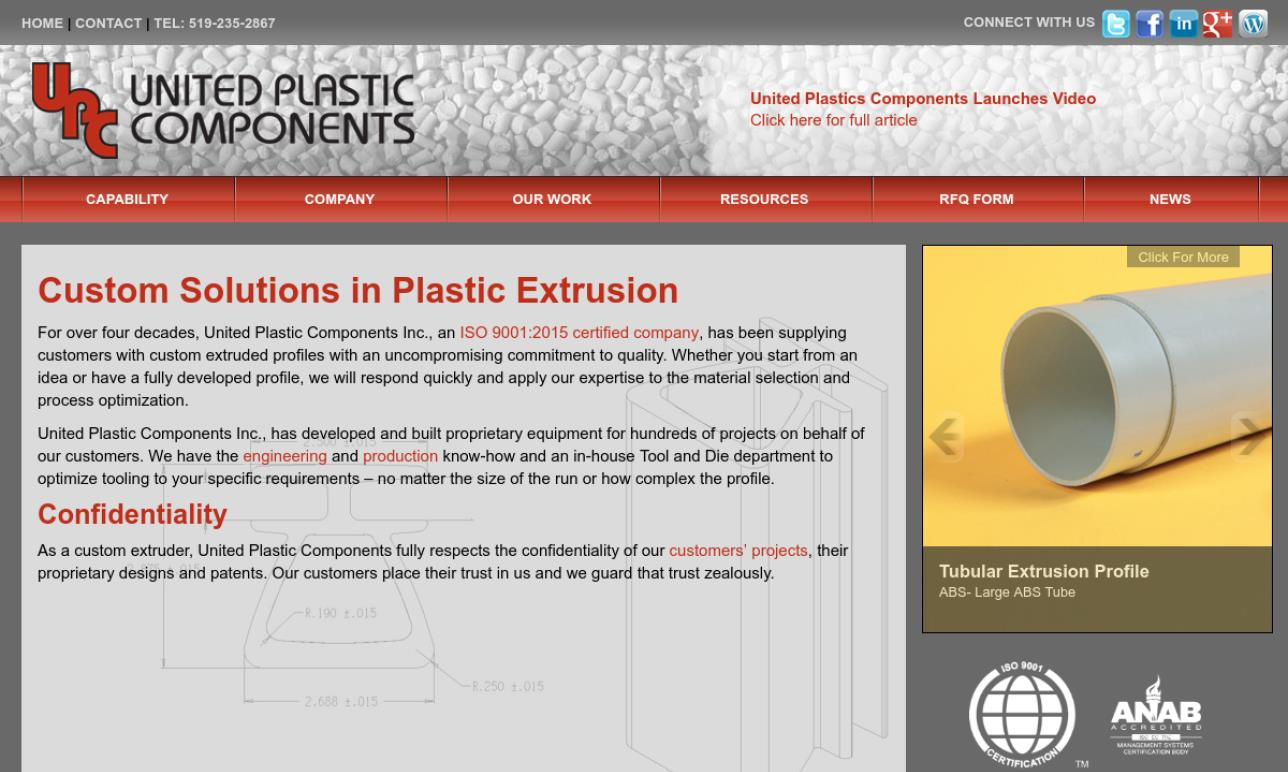 United Plastic Components, Inc.