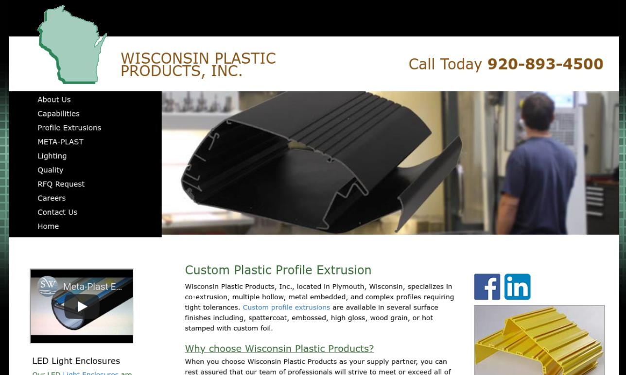 Wisconsin Plastic Products, Inc.
