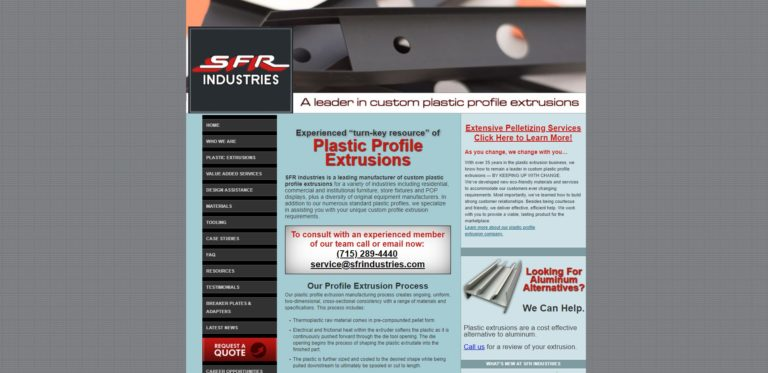 SFR Industries Inc.