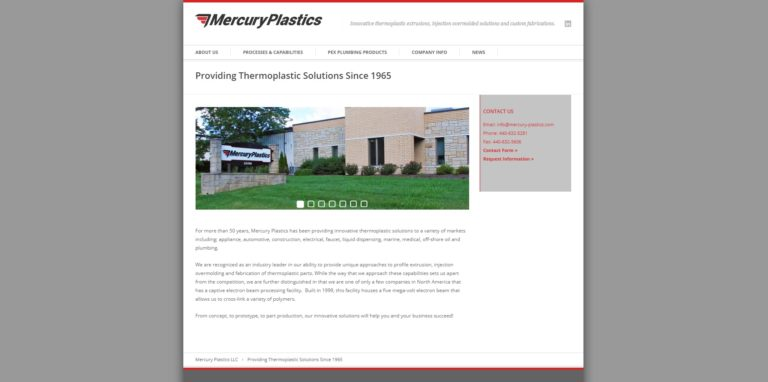 Mercury Plastics, Inc.