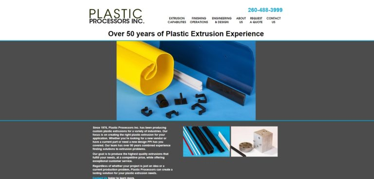 Plastic Processors, Inc.