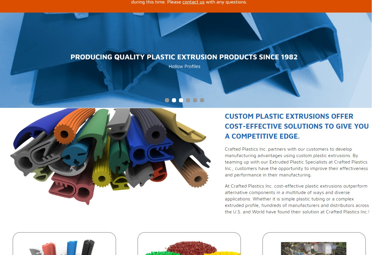 Crafted Plastics Inc.