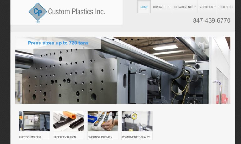 Custom Plastics, Inc.